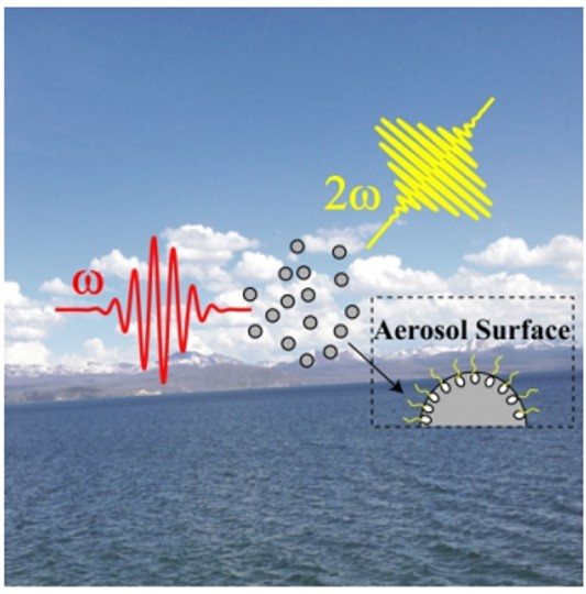 First direct detection of organics at the aerosol surface – our new publication in J. Phys. Chem. Lett. !