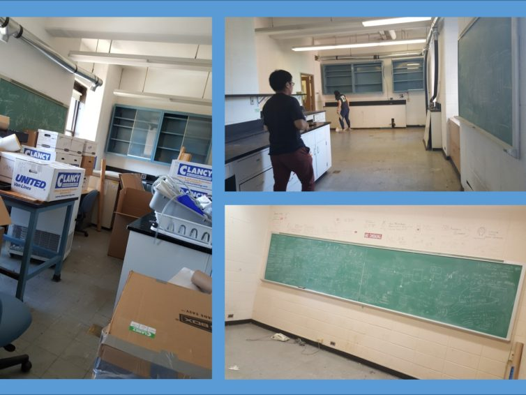 Lab move! Lab move! (Renovation Phase 1)