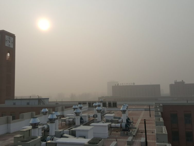 Live reporting from Beijing: Air Quality in crisis